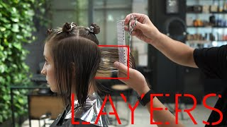 How To Cut A Bob Haircut With Bangs, Haircut Tutorial