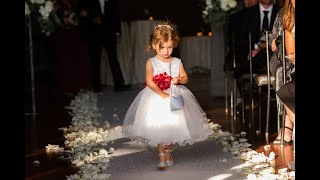 Awesome Flower girl & Ring bearers at Liza's Wedding