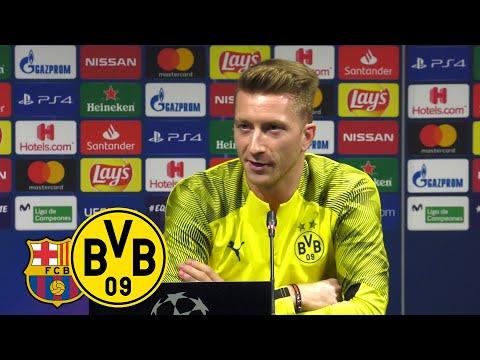 """""""Wir wollen ans Hinspiel anknüpfen!""""  PK mit Reus & Favre vor FC Barcelona   UEFA Champions League"""