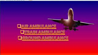 Global Air Ambulance in Jamshedpur at Minimum Cost