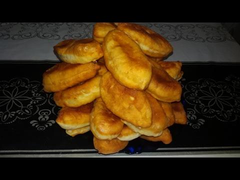 Жареные пирожки с картошкой! Быстро, просто и вкусно!! видео