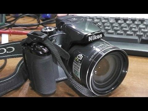 Не включается / Повреждён разъём питания. Фотокамера Nikon P510. РЕМОНТ
