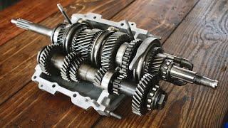 Alfa Romeo GTV gearbox rebuild