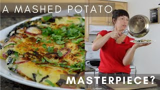 How To Use Leftover Mashed Potatoes | One Pan Fry Up