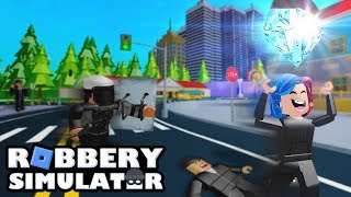 Roblox | Robbery 💎 Simulator | Грабим всё что видим!!+моё новое интро!