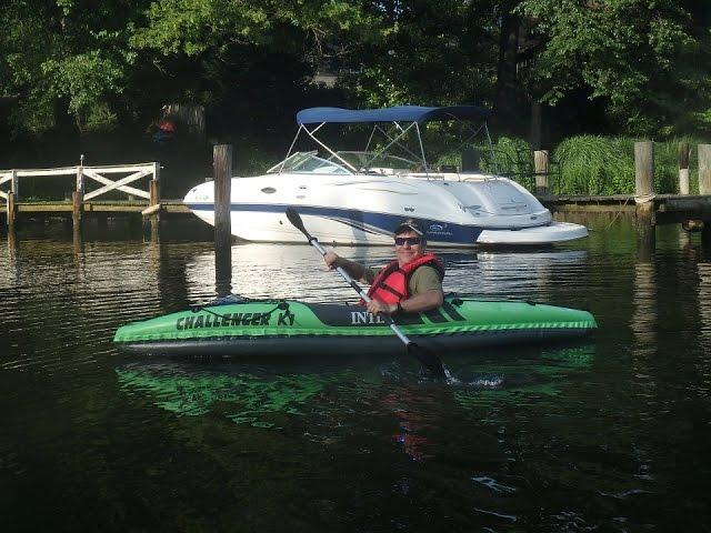 Intex Challenger K1 Inflatable Kayak - Review