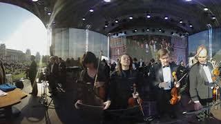 Московский симфонический оркестр в Царицыно, ВИДЕО 360