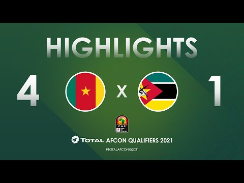 HIGHLIGHTS | Total AFCON Qualifiers 2021 | Round 3 - Group F: Cameroon 4-1 Mozambique