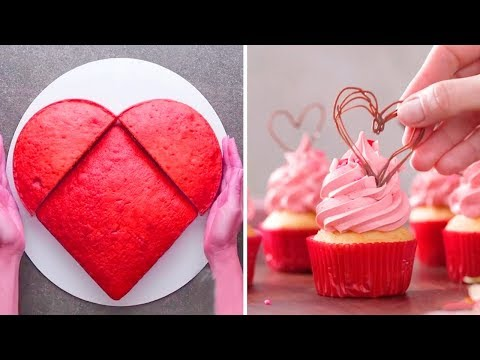 DIY Valentine's Day Treats 2019 | Easy Valentine's Day Cupcakes and Cake Recipe Ideas