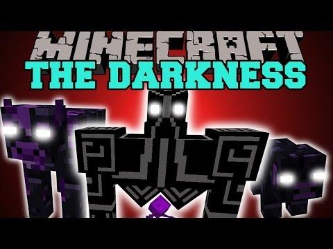 Minecraft: REALM OF DARKNESS (KING GOLEM, DIMENSION, & EXPLOSIVE HAMMER) Mod Showcase
