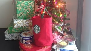 Открываем подарки на Новый Год от Деда Мороза Unpack New Year present from Santa
