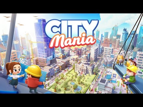 City Mania: Town Building Game βίντεο