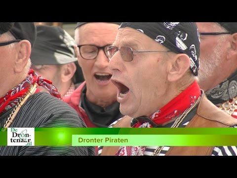 Zes piratenkoren op twee podia tijdens Suyderseefestival in het winkelcentrum