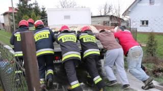 Pożar samochodu w Świerzowej Polskiej