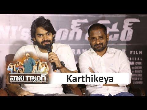 Karthikeya at Gang Leader Movie Success Meet