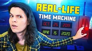 I Built a REAL-LIFE Time Machine! 🕒