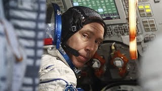 Canadian Andrew Feustel and Soyuz crewmates launch to International Space Station.