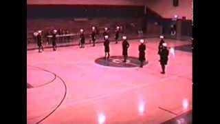 preview picture of video 'Portage High School Armed Exhibition Platoon B - Springfield - 1991'