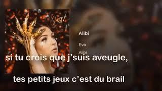 EVA   ALIBI (PAROLES OFFICIELLES)