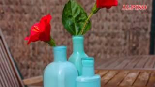 DIY Tempera Alpino: ¡Decora tus botellas! / Decor your bottles!