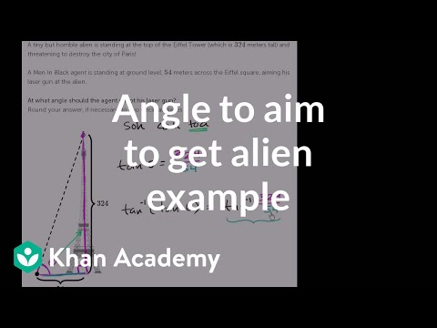 Right triangle word problem (video) | Khan Academy