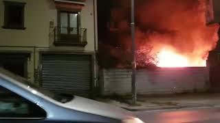 incendio-in-via-tedesco-paura-tra-i-residenti