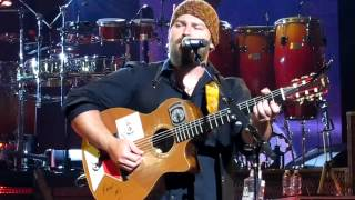 Zac Brown Band - America The Beautiful INTO Chicken Fried - Saratoga Springs, NY - 6/1/12