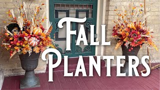 Fall Planter Decorating - DIY Fall Containers - How To Decorate Planters For Fall