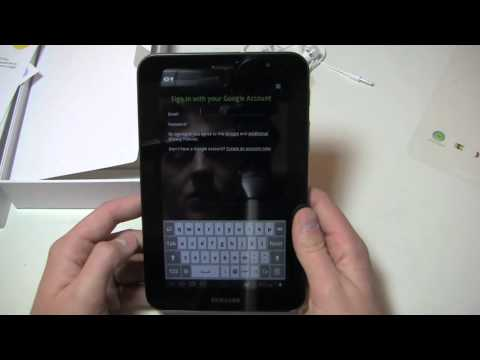 Samsung Galaxy Tab 7.0 Plus Unboxing