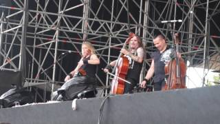 Apocalyptica - House of Chains @ Rock in Roma 08 June 2016