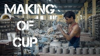 Khurja Crockery | Making Of CUP |  KHURJA Ceramics Work | 8368550887, 9643167406