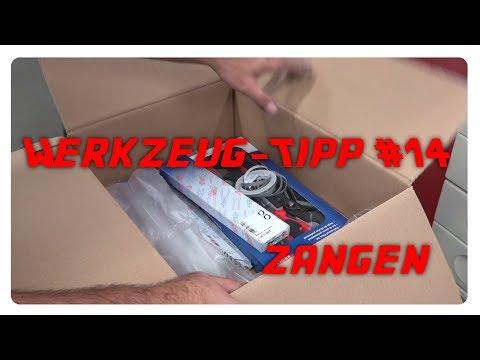 Werkzeug-Tipp #14 - Zangen fürs schrauben [4K]