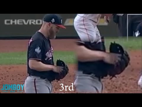 Stephen Strasburg and tipping pitches in the World Series, a breakdown