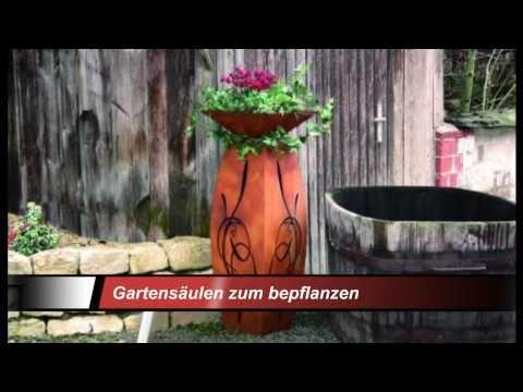 Metallmichl Gartendeko Rost - Edelrost Dekoration