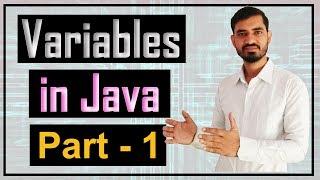 Variables in Java by Deepak (Hindi) - Part 1