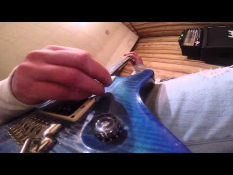 Gopro on a guitar Knurling - No Escape
