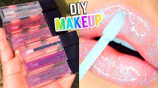 MAKE YOUR OWN MAKEUP 9 DIY Projects You Need To Know! Lipstick, Eyeliner, Lipgloss,Eyeshadows & More