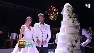 جيزام كاراجا عروس تركية بلا شهر عسل.. شاهد لقطات حصرية من زفافها