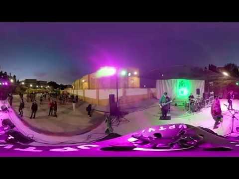 Grupo musical Belver Yin en el Festival Ampatízate en directo/ 360º