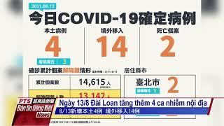 Đài PTS – bản tin tiếng Việt ngày 13 tháng 8 năm 2021