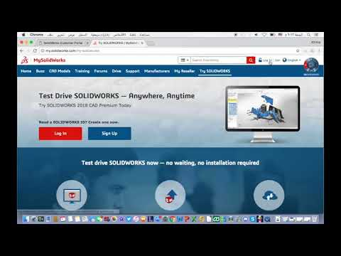 how to use the solidworks online