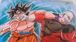Imagenes Para Colorear De Goku Vs Jiren