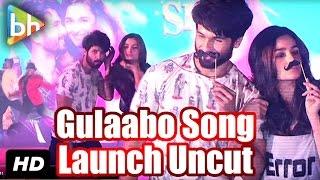 'Gulaabo' OFFICIAL Song Launch | Shaandaar | Alia Bhatt | Shahid Kapoor