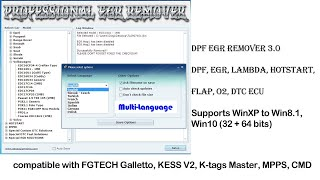 DTC DPF EGR LAMBDA Removers downloads and activations - Most Popular