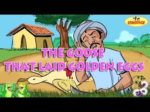 The Goose That Laid Golden Eggs || Moral Stories || Animated Stories in English