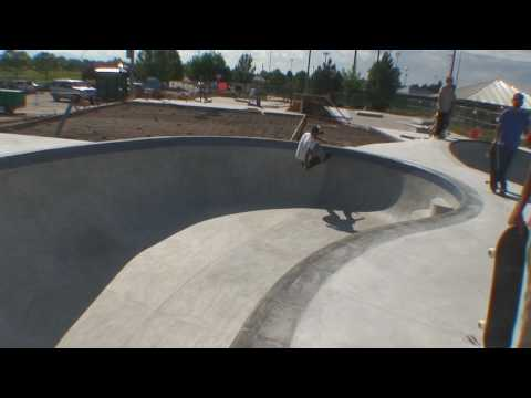 Broomfield Skatepark - First day riding the bowls