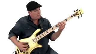 Bass Guitar Lesson - Slow Blues - Andy Irvine