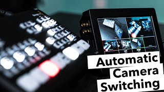 How to auto-switch multiple cameras for podcasts and performances with the ATEM Mini
