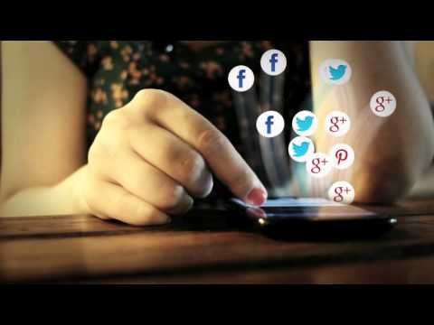 Social media and web content. Социальные сети и веб-контент.