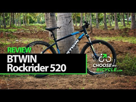 Btwin Rockrider 520 Mountain Bike (2017): ChooseMyBicycle.com Expert Review